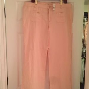 Beautiful pink Loft pants